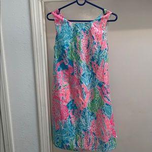 Lilly Pulitzer Lets Cha Cha LCC Delia Shift Dress